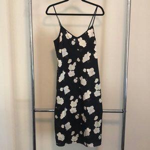 Club Monaco Elizabetha silk midi dress